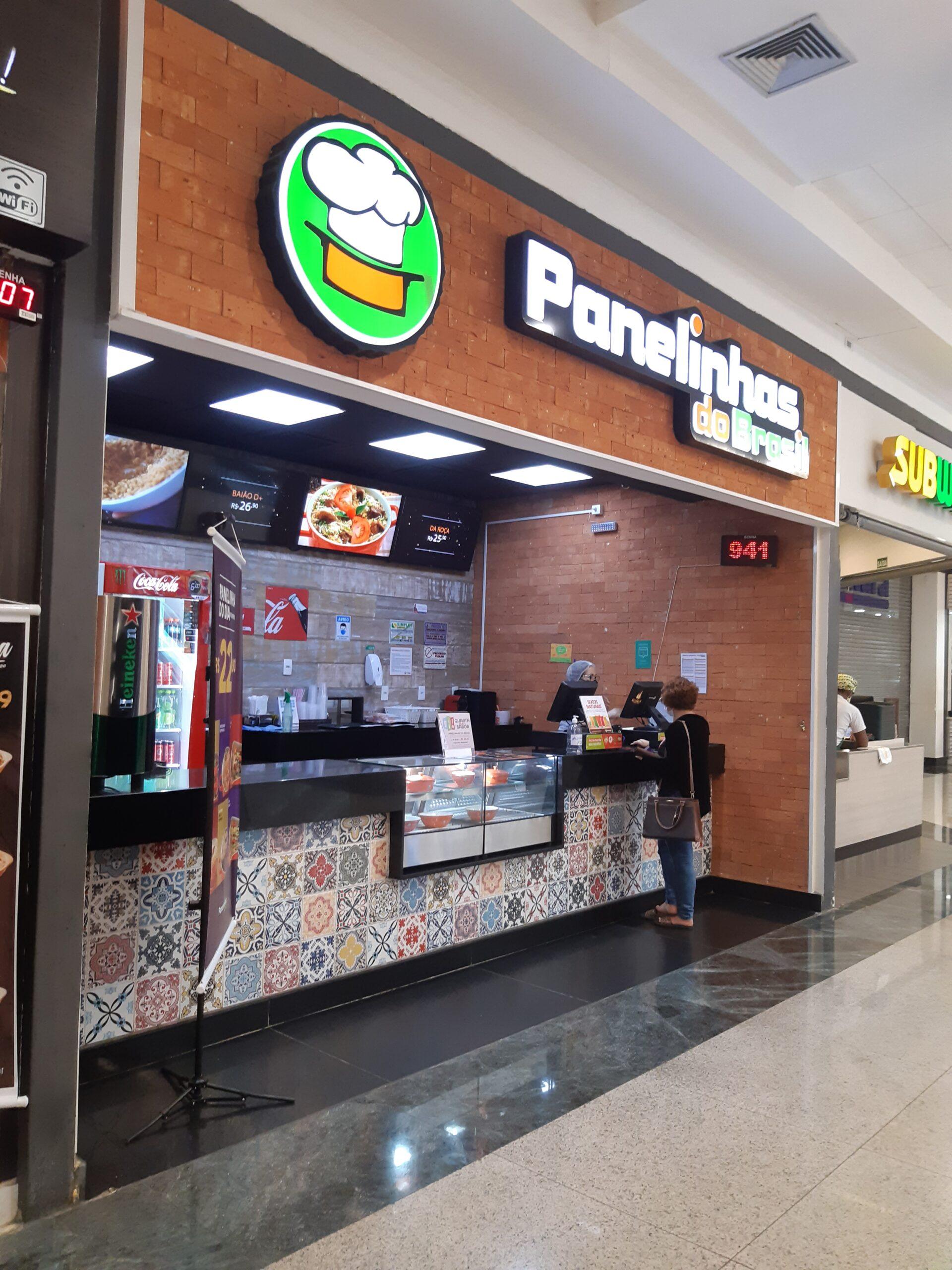 Panelinhas do Brasil, Taguatinga Shopping, Comércio Brasilia
