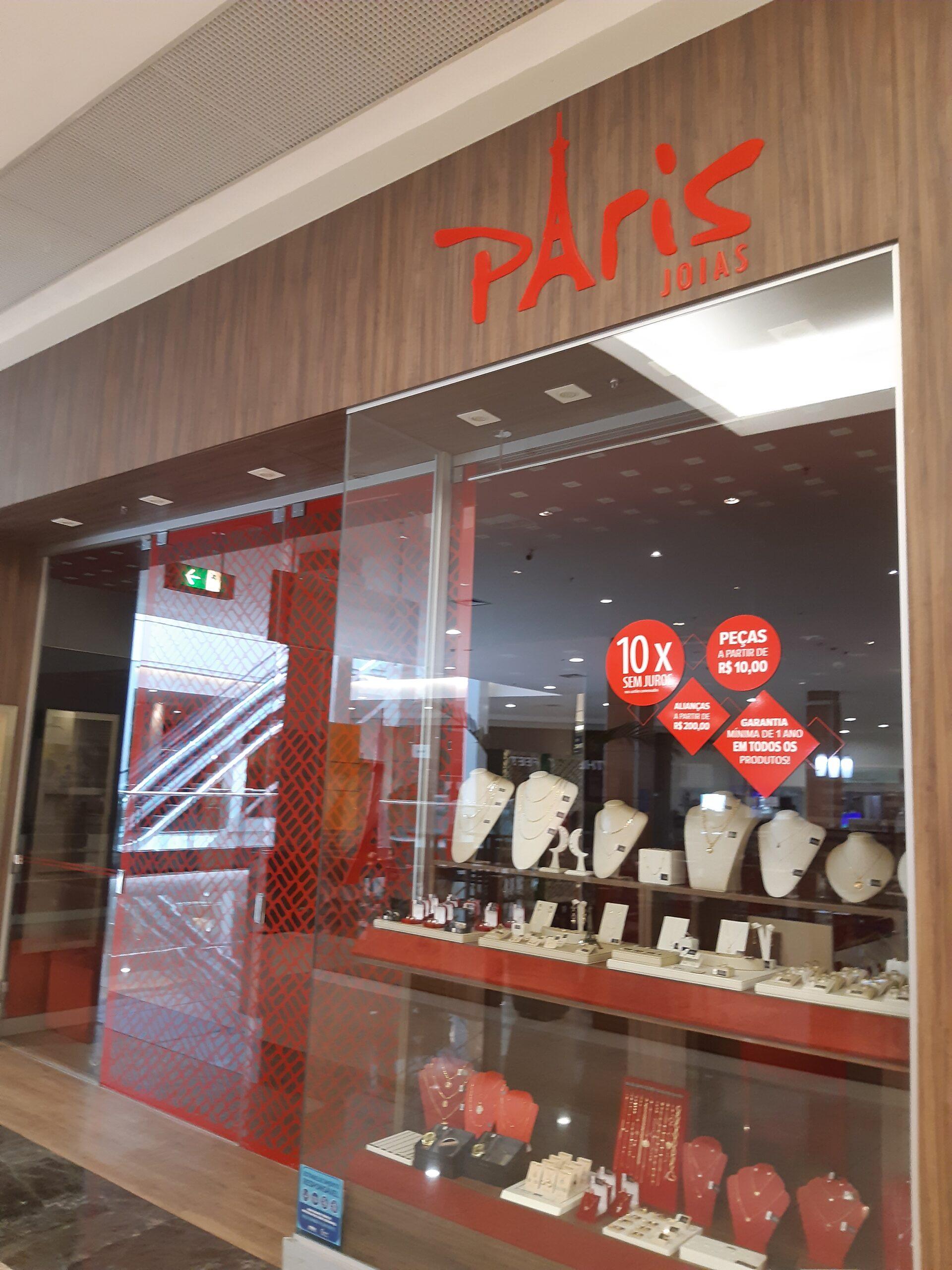 Paris Joias Taguatinga Shopping, Comércio Brasilia