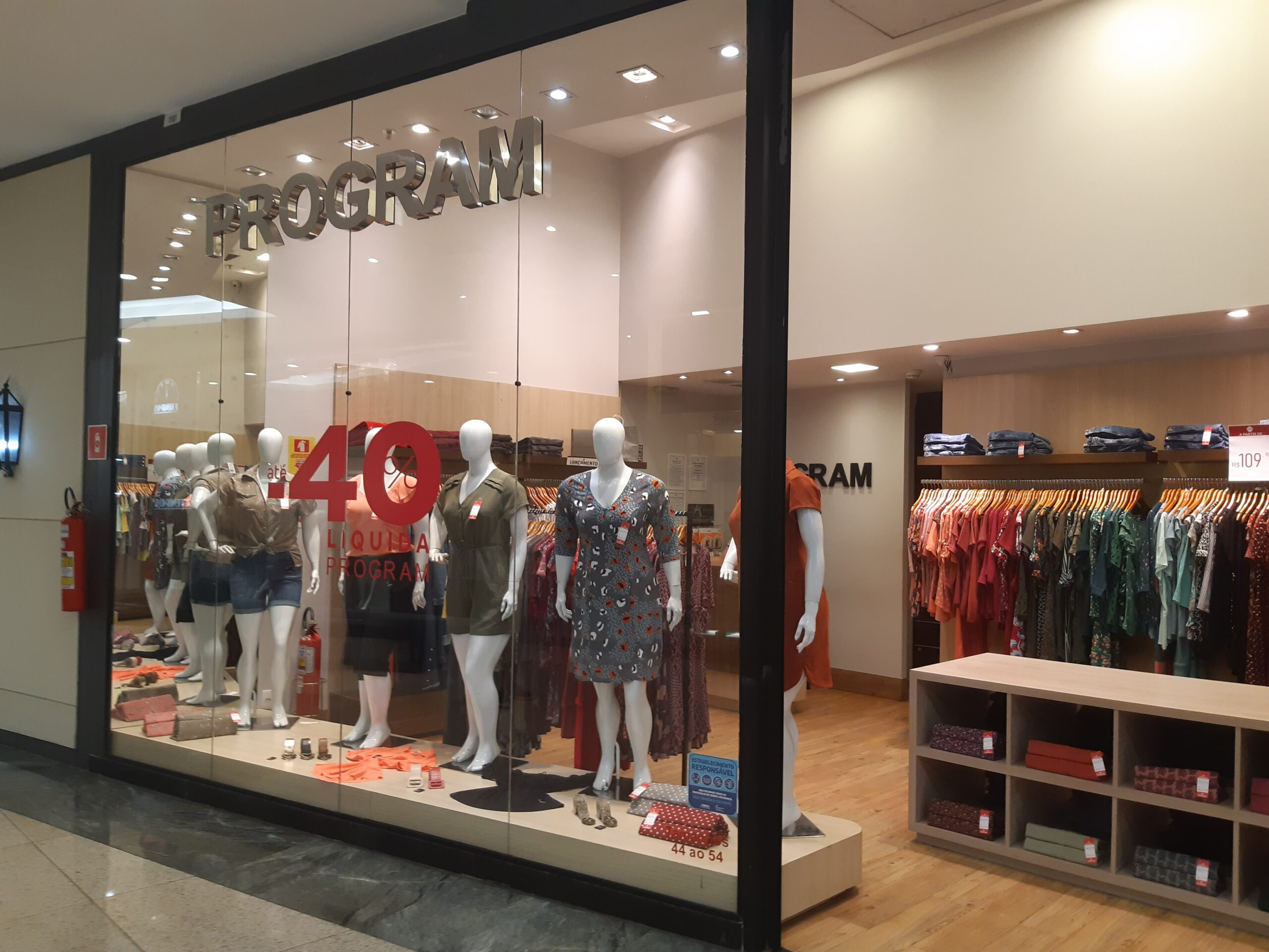 Program Taguatinga Shopping, Comércio Brasilia