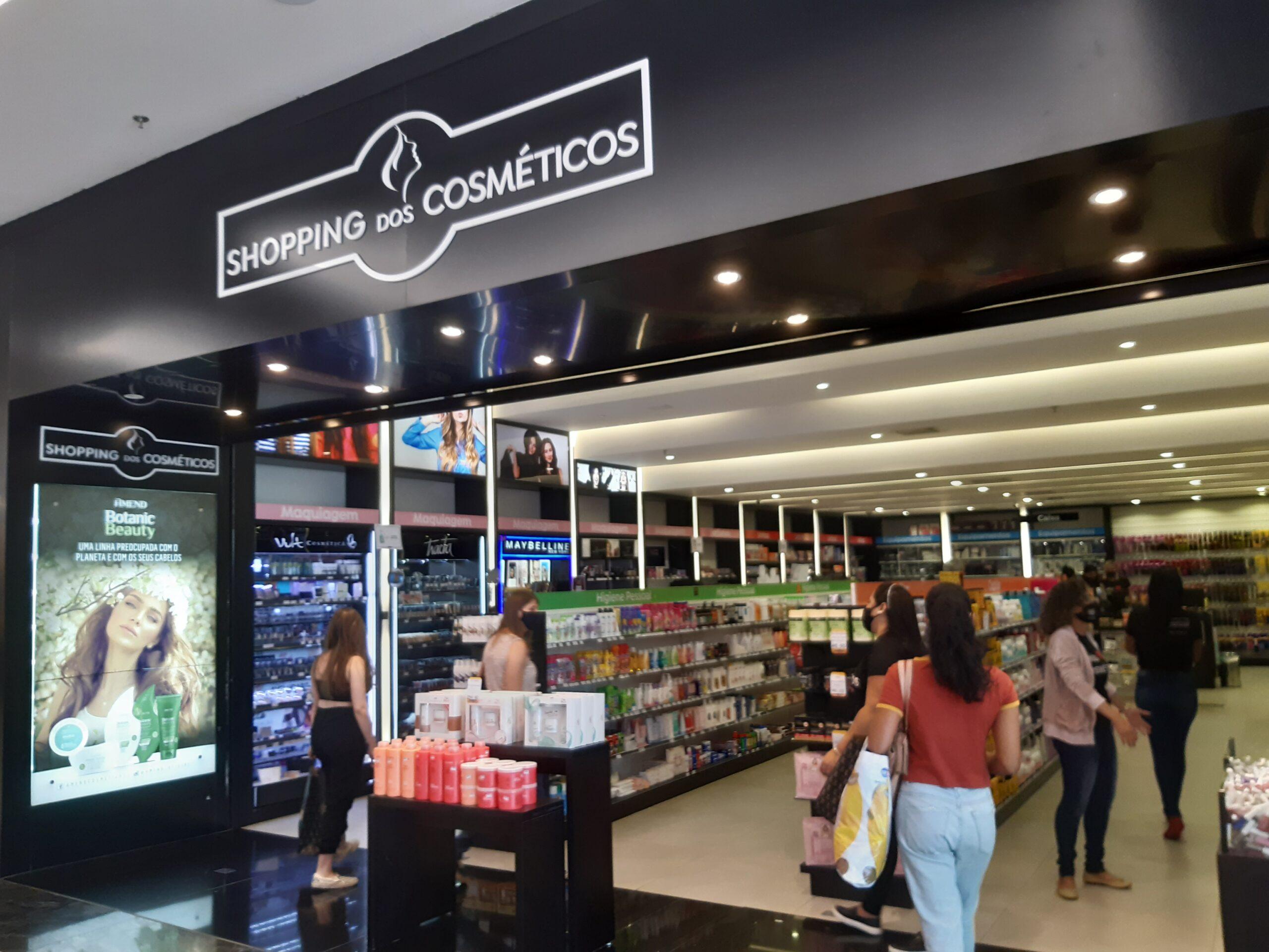 Shopping dos Cosméticos do Taguatinga Shopping, Comércio Brasilia