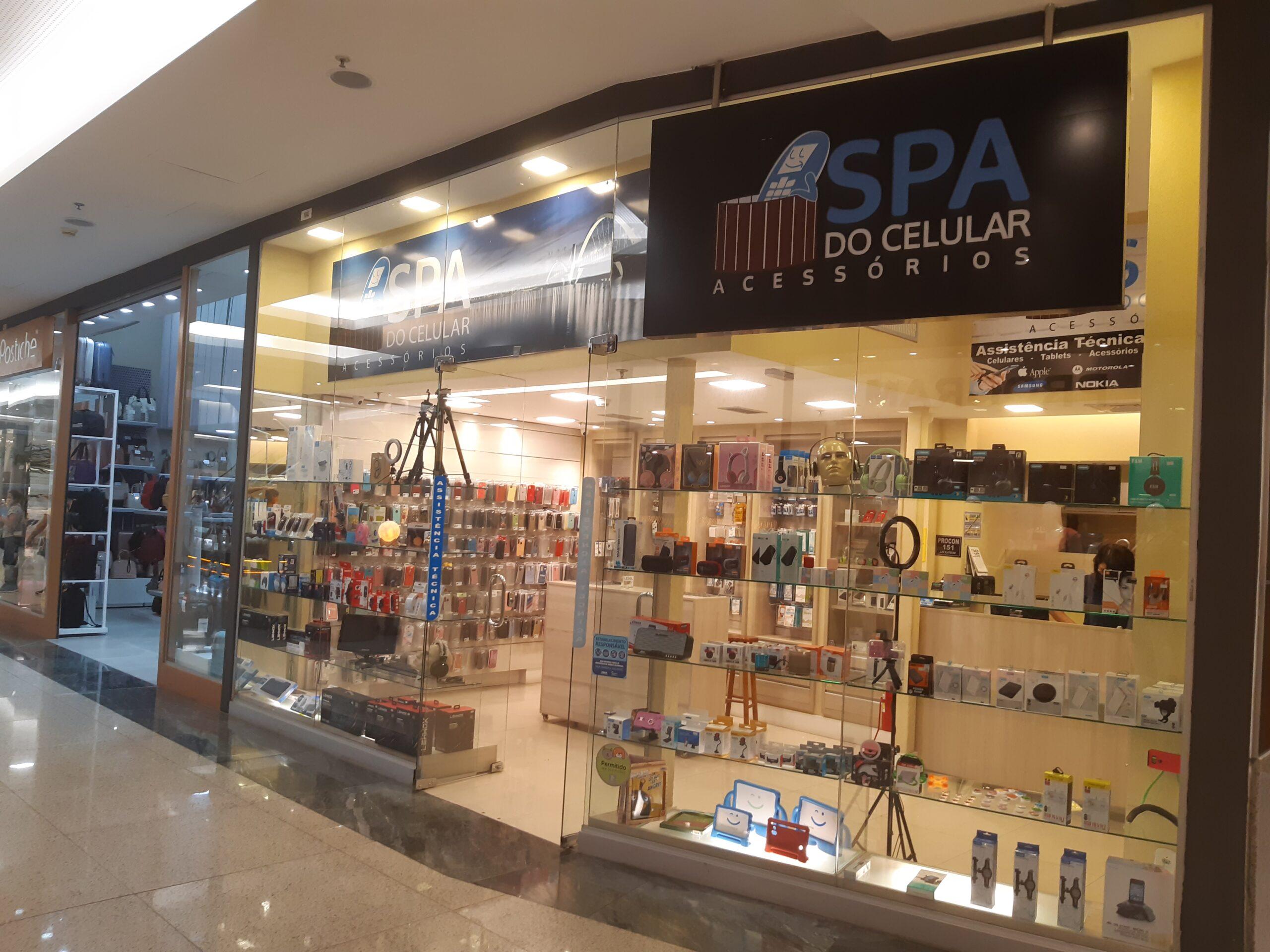 Spa do Celular Taguatinga Shopping, Comércio Brasilia