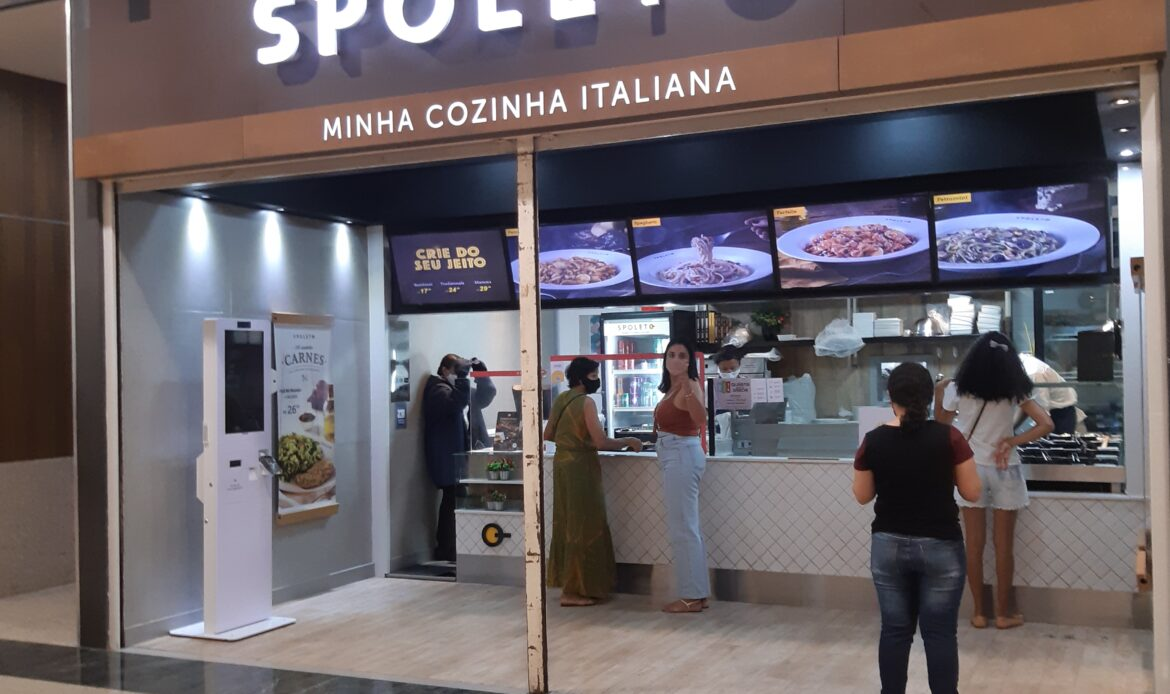 Spoleto do Taguatinga Shopping, Comércio Brasilia