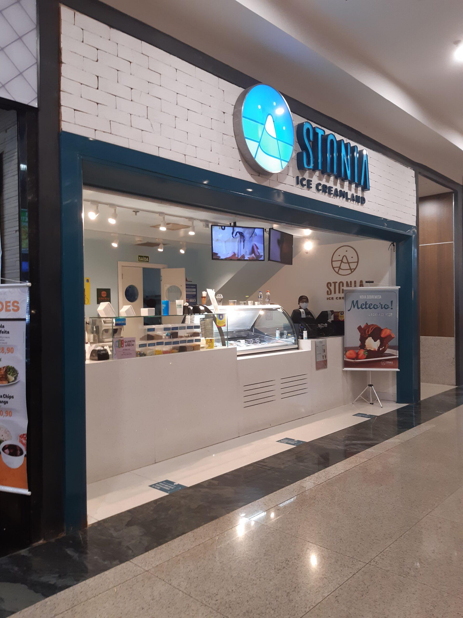 Stonia Ice Cream do Taguatinga Shopping, Comércio Brasilia