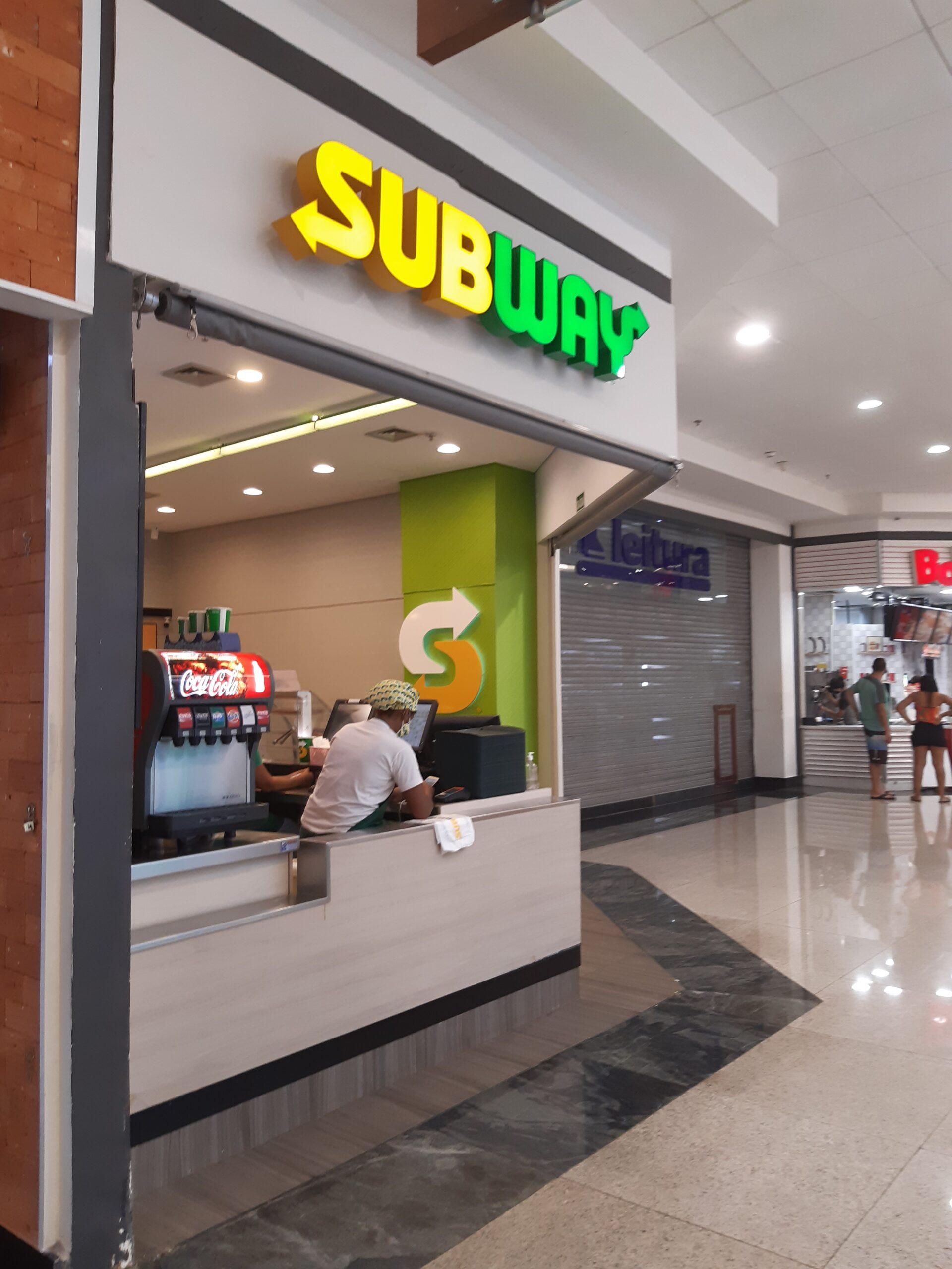 SubWay do Taguatinga Shopping, Comércio Brasilia