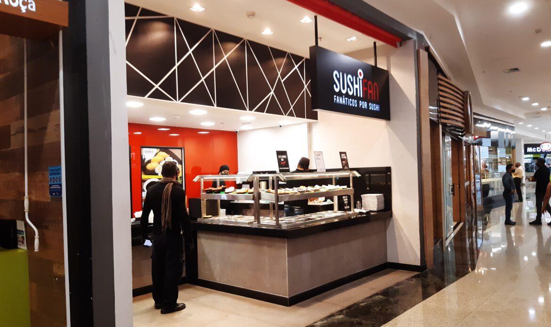 Sushi Fan do Taguatinga Shopping, Comércio Brasilia