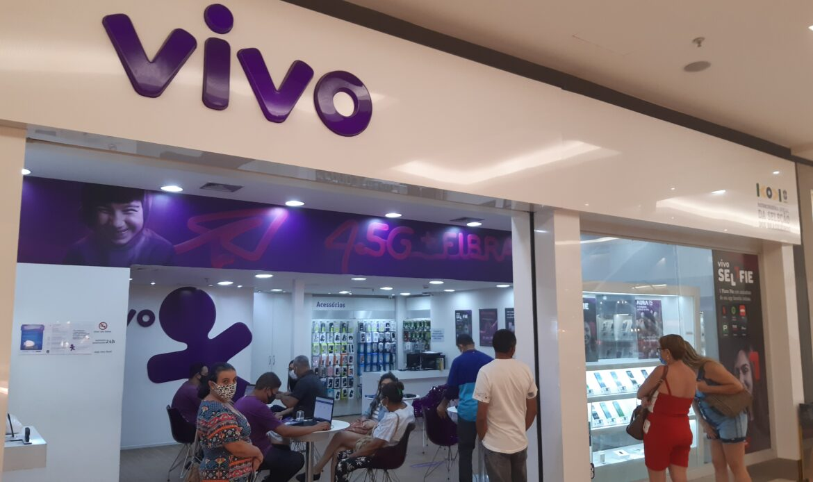 Vivo Celular do Taguatinga Shopping, Comércio Brasilia