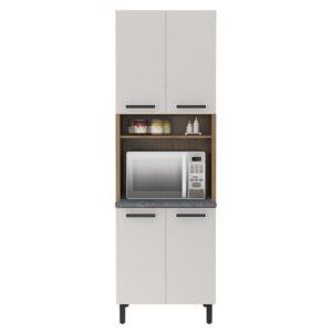 Paneleiro p/ Forno Cozinhas Itatiaia New Jazz - 4 Portas - Off White