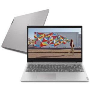 "Notebook Lenovo 15.6"" Ultrafino Ideapad 12gb 1tb Linux S145 Ryazen 5"