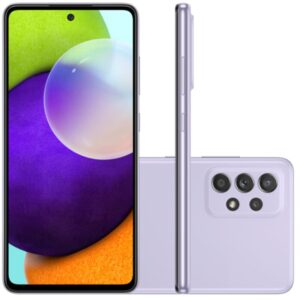 "Smartphone Samsung Galaxy A52 Tela Infinita 6,5"" 128gb 6gb Ram Câmera"