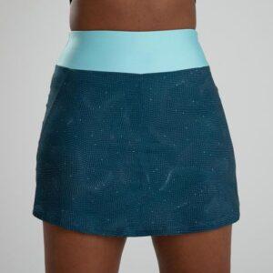 Saia Shorts de Poliéster feminina Fitness Spray 120