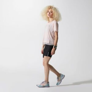 Camiseta feminina de corrida Run Feel