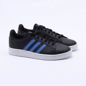Tênis Adidas Grand Court Base Preto Masculino