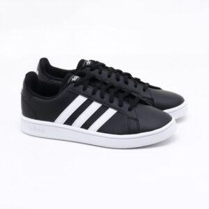 Tênis Adidas Grand Court Base Preto Feminino