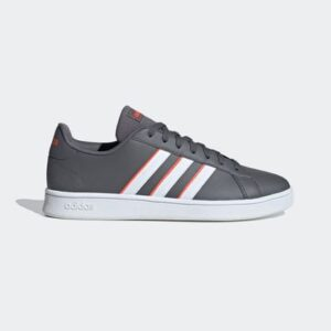 Tênis Adidas Grand Court Base Cinza Masculino