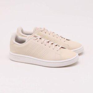 Tênis Adidas Advantage Base Creme Feminino