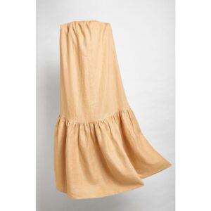 Vestido Longo Carol cor Camelo 36