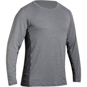 Camiseta de poliamida masculina Fitness 510