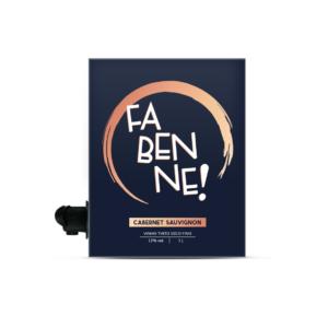 Vinho Cabernet Sauvignon Bag in Box Fabenne 3l