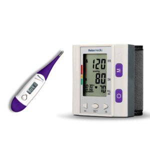 Medidor Pocket Control + Termômetro Clean View