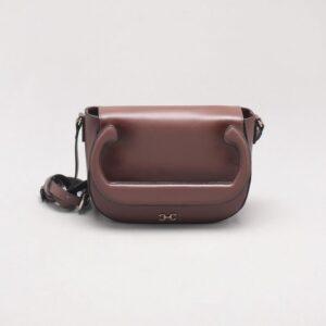 Bolsa Shoulder Bag Couro Ébano - P
