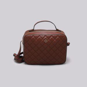 Bolsa Shoulder Bag Couro Monograma Ébano