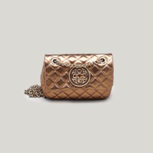 Bolsa Olívia Shoulder Bag Couro Bronze - P