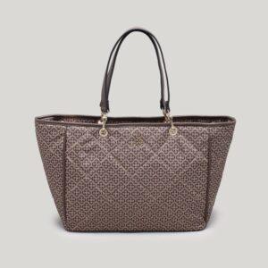 Bolsa Shopper Monograma Nocciola - G
