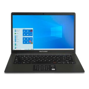 "Notebook Multilaser Legacy Book PC310, Intel Pentium, 4GB 64GB, 14"", W10, Preto"