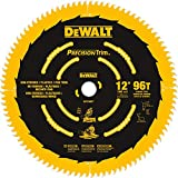 DEWALT DW7296PT Precision Trim 12-Inch 96 Tooth ATB Crosscutting Saw Blade