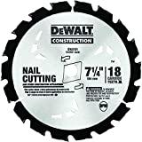 DEWALT Lâmina de serra para corte de unhas DW3191 Series 20 de 18 dentes com 1,5 cm e mandril diamante Knockout