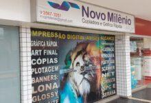 Novo Milênio, Copiadora e Gráfica Rápida, 61 3567-3281, QE 11 Área Especial, Edifício Guará Office, Guará I, Comércio Brasília