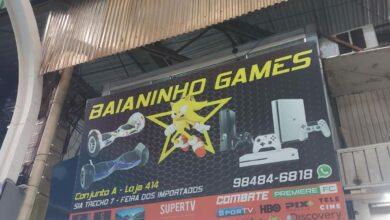 Baianinho Games, Feira dos Importados de Brasília, ComercioBrasilia.