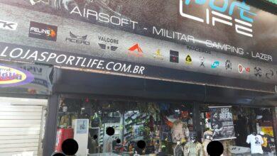Sport Life, Artigos Militares, AirSoft, Camping, Lazer, Feira dos Importados de Brasília, ComercioBrasilia.