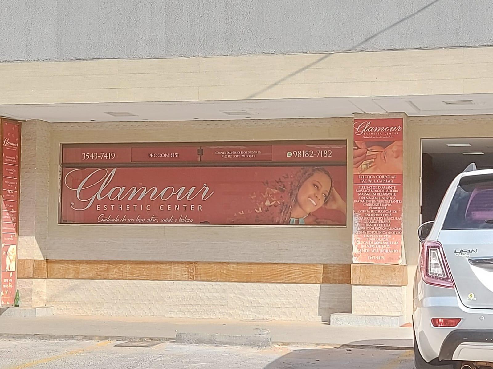 Glamour EsSthetic Center, Comércio do Império dos Nobres, Sobradinho-DF, Comércio Brasilia
