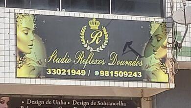 R Studio Reflexos Dourados, Comércio do Império dos Nobres, Sobradinho-DF, Comércio Brasilia