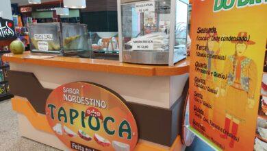 Tapioca Sabor Nordestino Quiosque, loja comercial interior Extra Norte Hipermercado, Setor Terminal Norte, Asa Norte, Comércio Brasília