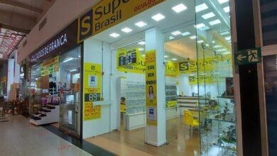 Super Ótica, loja comercial interior Extra Norte Hipermercado, Setor Terminal Norte, Asa Norte, Comércio Brasília