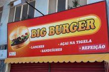 Big Burger Lanchonete, Cruzeiro Center, Cruzeiro