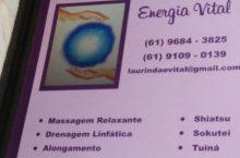 Energia Vital, Massagem Relaxante, CLN 201, Asa Norte