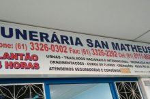 Funerária San Matheus, CLN 102, Asa Norte