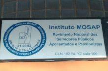 Instituto MOSAP, Movimento Nacional dos Servidores Públicos Aposentados e Pensionistas