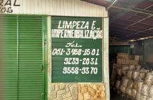 Limpeza e Impermeabilização, Polo Verde, Viveiro de Plantas, Lago Norte