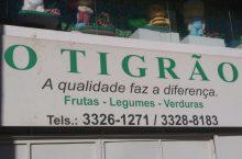 O Tigrão, Hortifruti, frutas, legumes, verduras, CLN 402, Asa Norte