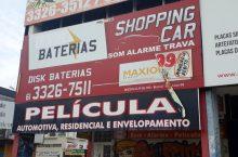 Shopping Car, Som, alarme, travas, películas, Quadra 703 Norte,  Asa Norte