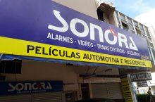 Sonora, alarmes, vidros, travas elétricas, acessórios, películas 704 Norte