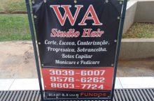 WA Studio Hair, Corte, Escova, Cauterização CLN 207, Asa Norte