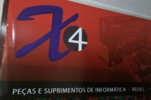 X4 Peças e Suprimentos de Informática, redes, segurança eletrônica, SCLN 406, Asa Norte