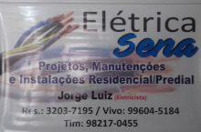 Elétrica Sena, Projetos, Automação, Manutenções e Instalação  Residencial e Predial